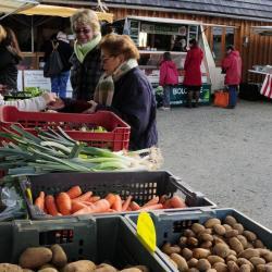 marché bio de Restalgon